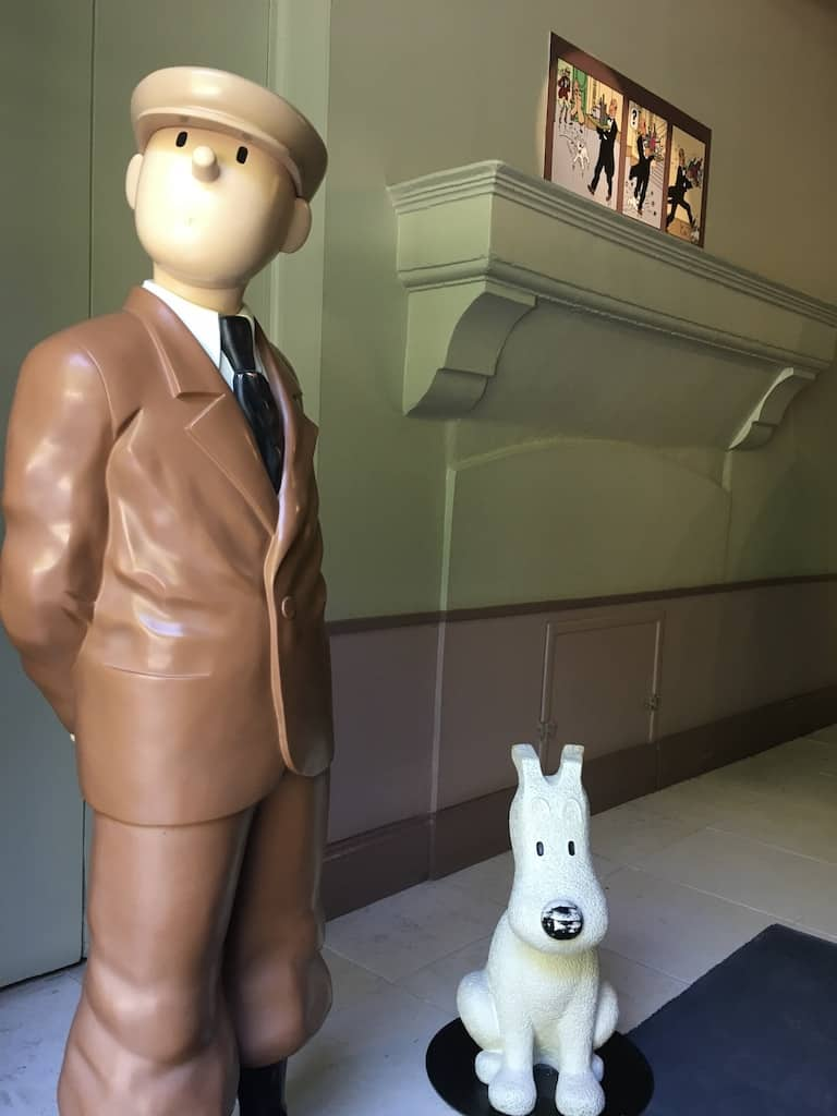chateau-cheverny-loire-moulinsart-musee-exposition-tintin-herge-bd-statues-milou