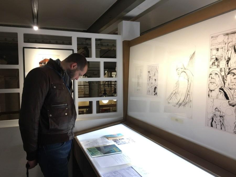 bruxelles-musee-bande dessinée-belgique-planche-dessin