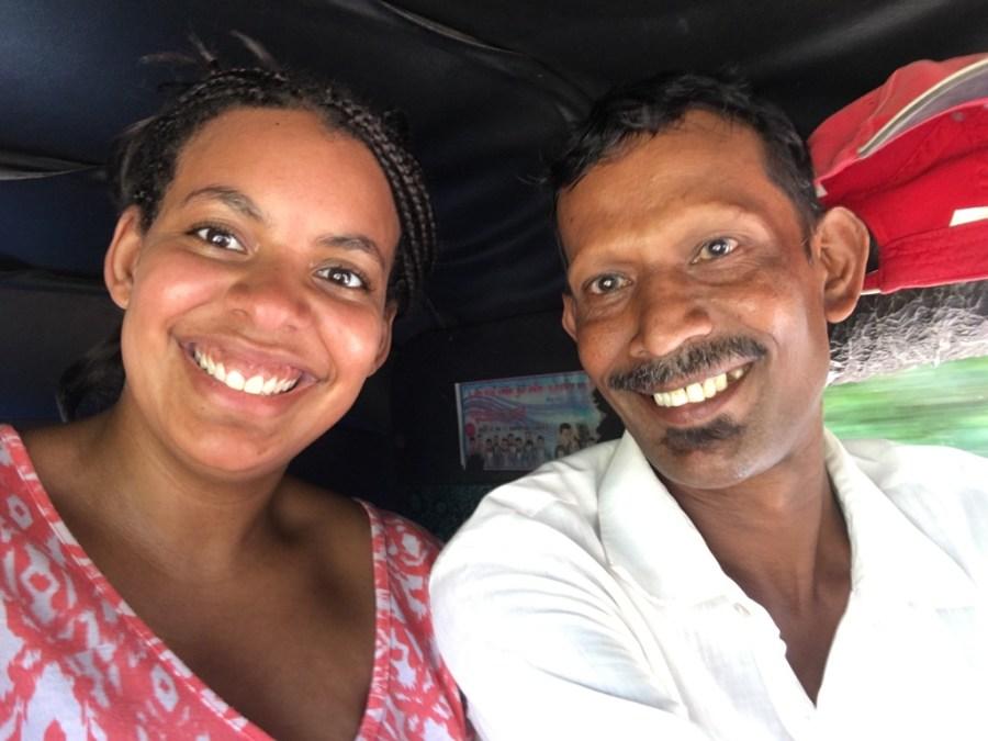 Rencontre avec Sindu un guide local à Anuradhapura au Sri Lanka