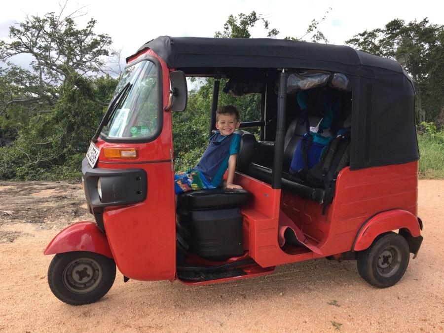 Axel notre futur chauffeur de tuk-tuk