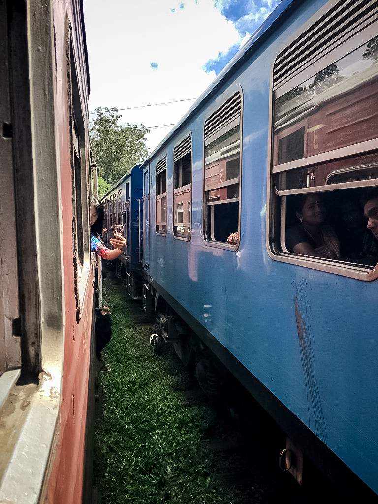 Le train bleu pour Ella au Sri Lanka