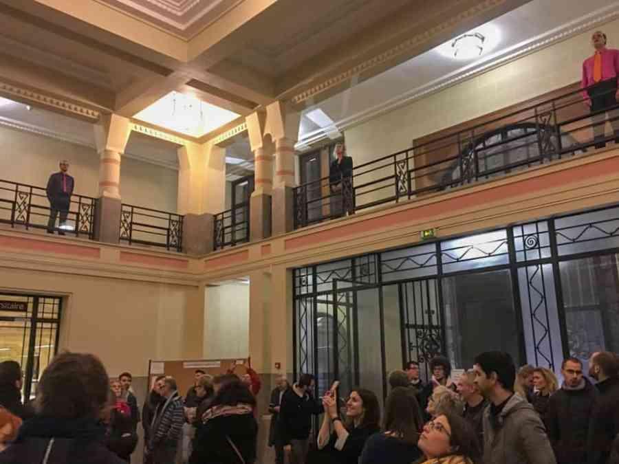 Hall d'entrée de la faculté Jean Perrin Art Déco de Lens