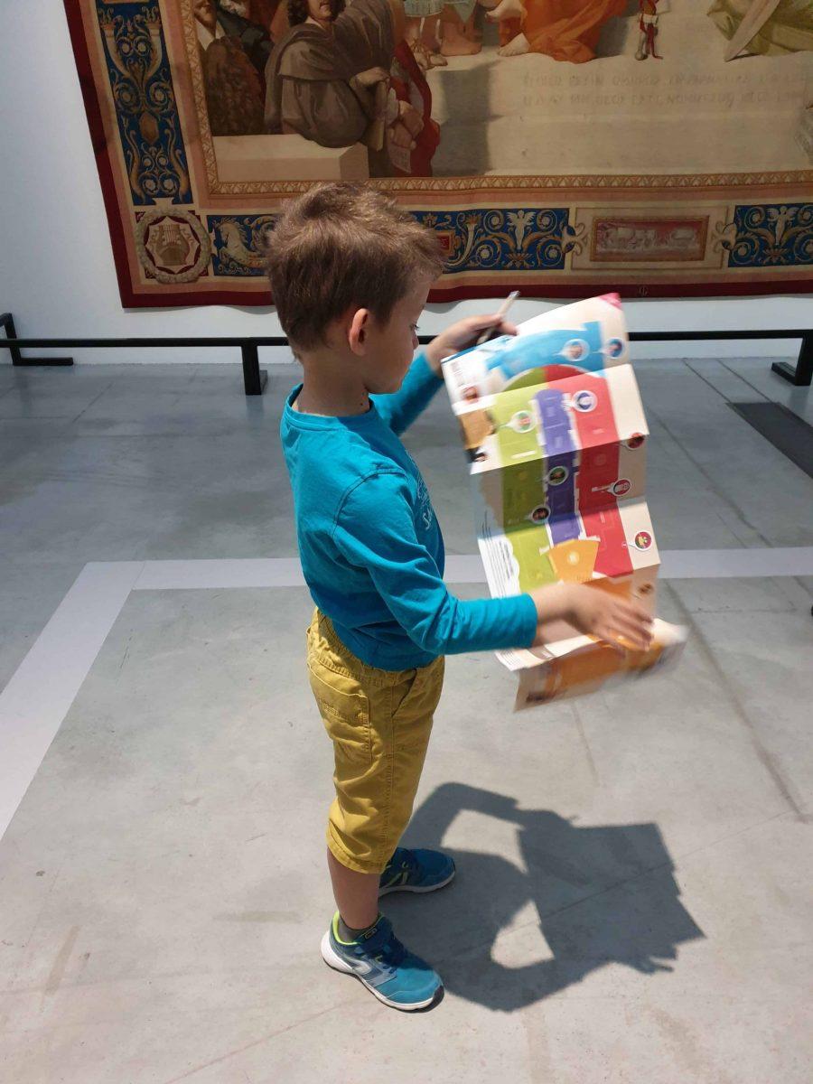 Parcours en famille au musée du Louvre Lens