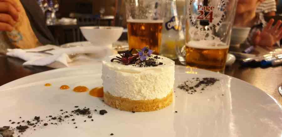 Dessert au Galibot à Lens