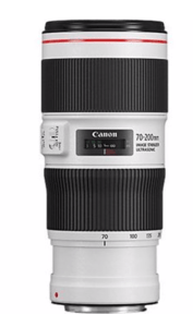 Téléobjectif CANON 70-200mm