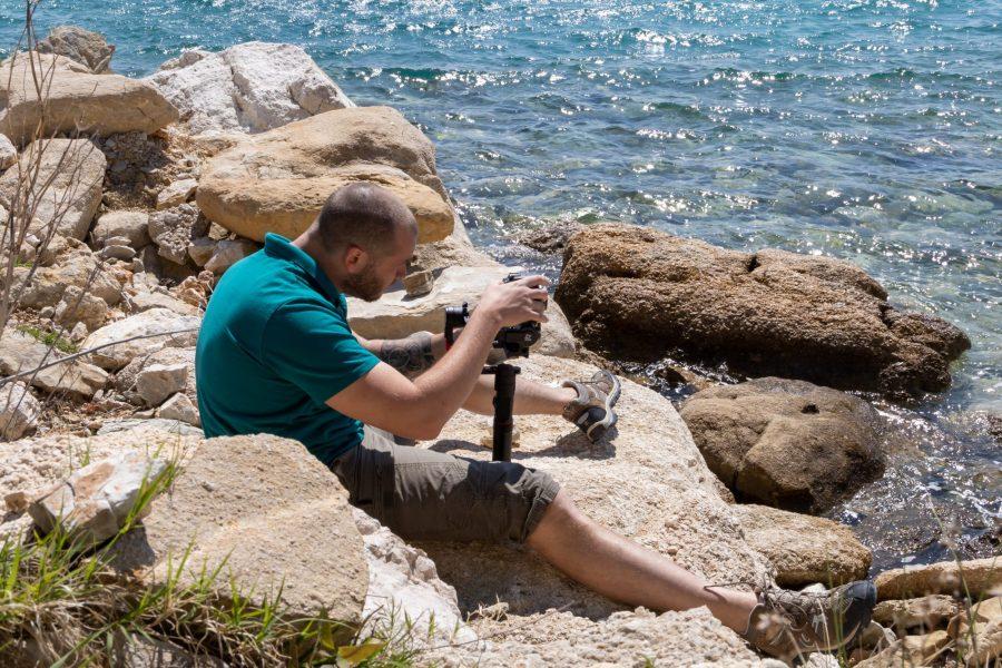 Appareil photo reflex en Croatie