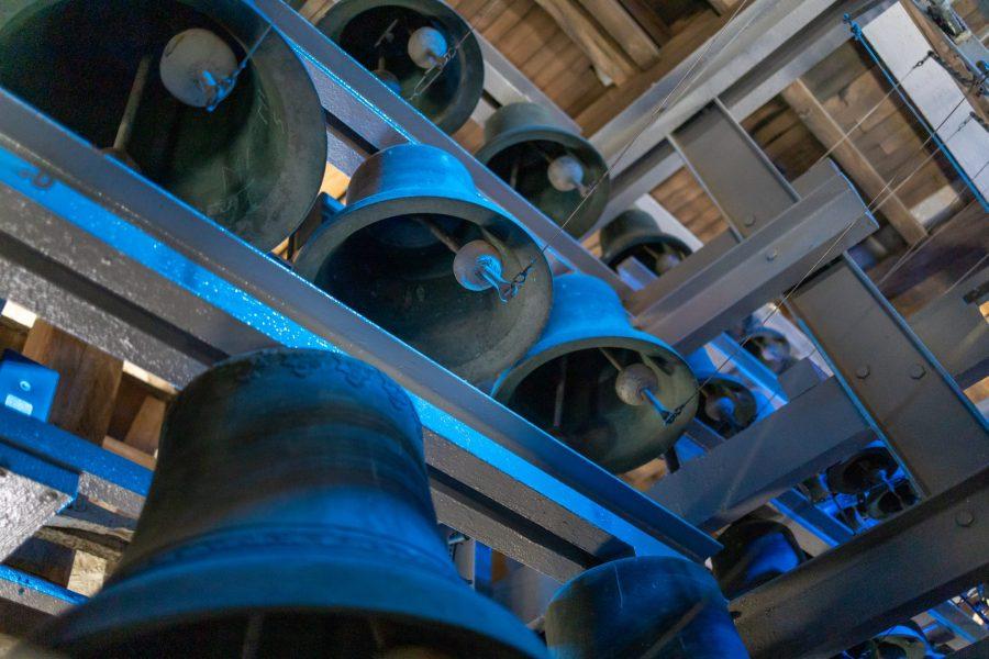 Les cloches en bronze du beffroi de Douai