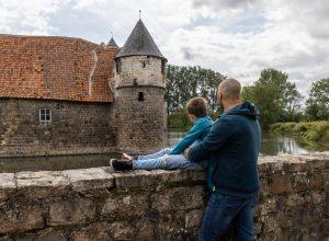 Balade familiale au château d'Olhain