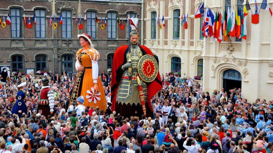 Les fêtes de Gayant à Douai