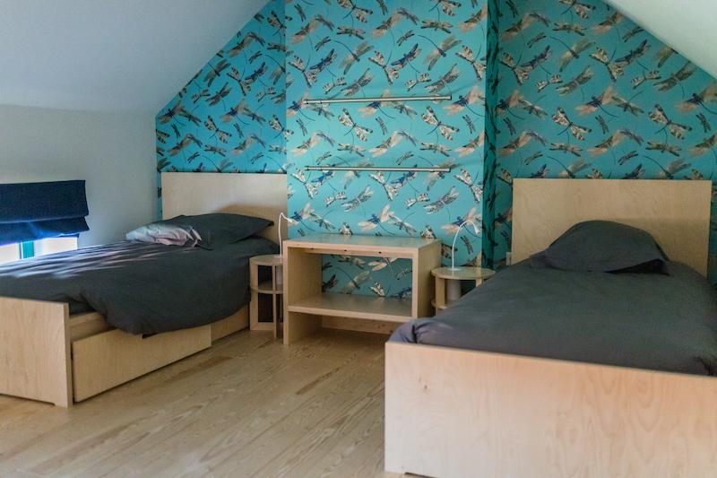 Une des chambre du gite