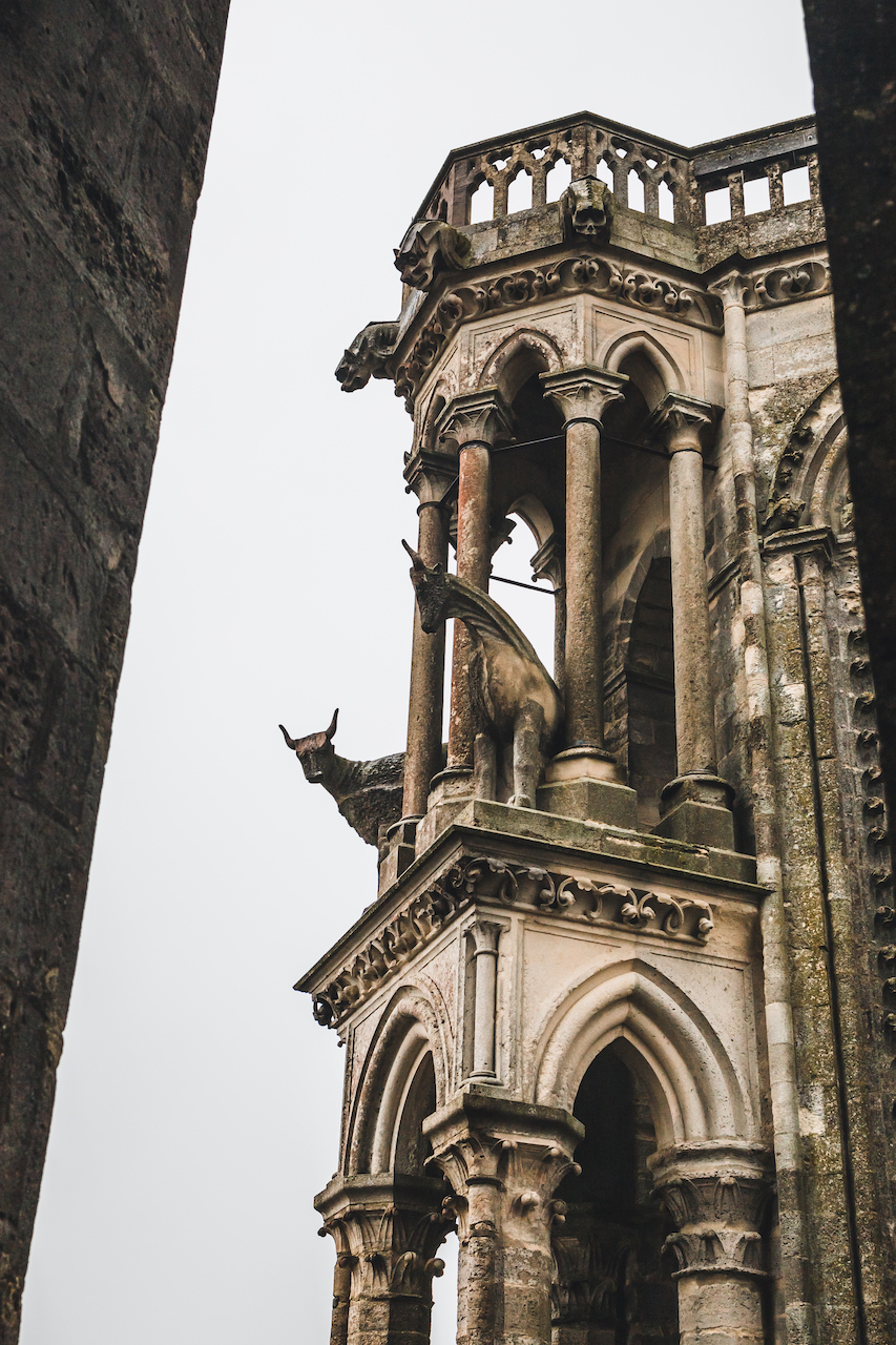 Boeufs perchés sur les Tours de la Cathédrale de Laon