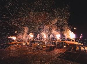 Etincelles pour les fêtes de la Sainte Barbe