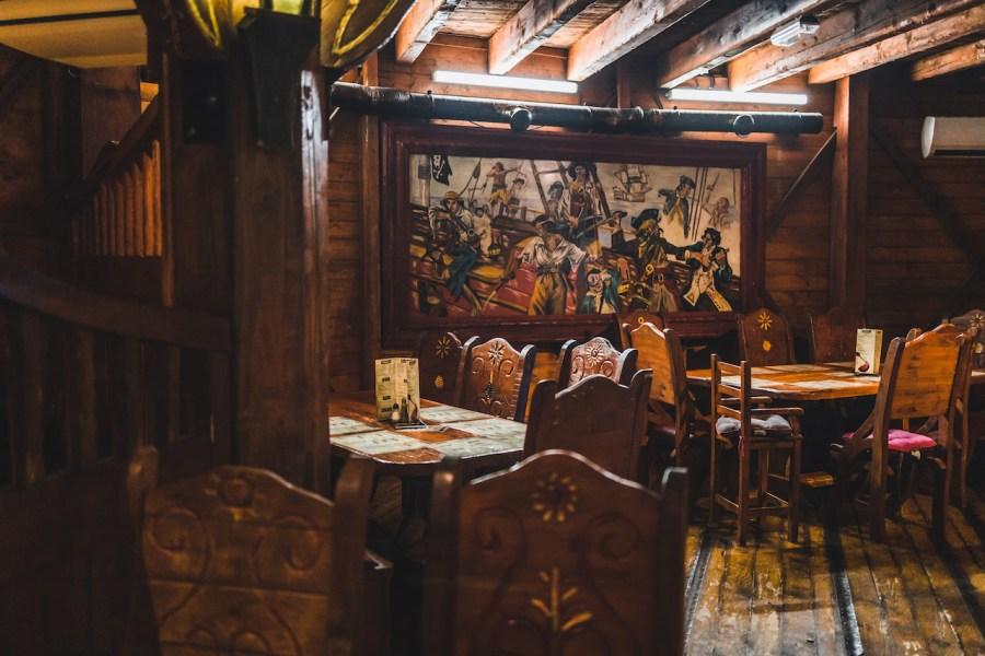 Ambiance du restaurant le Galion