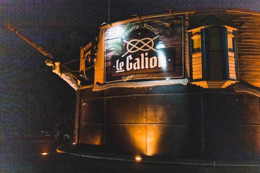 Restaurant le Galion à Charleville Mézières sur le thème des pirates