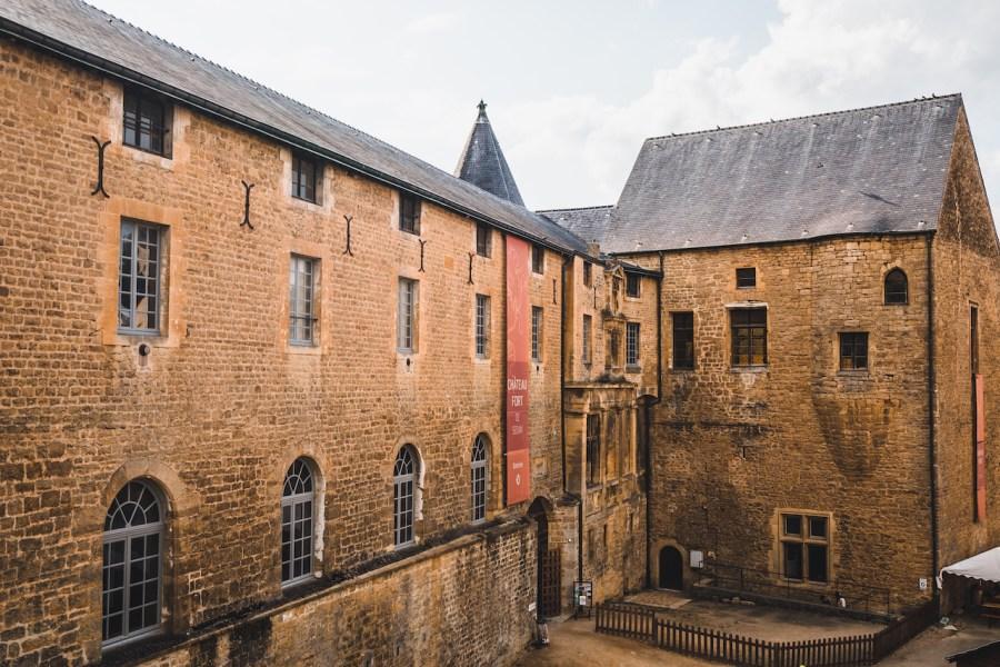 Chateau de fort de Sedan dans les Ardennes