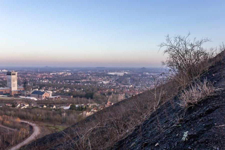 Vue panoramique depuis les terrils de Loos en Gohelle