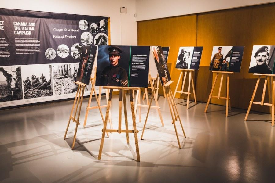 Portraits de la liberté à Vimy
