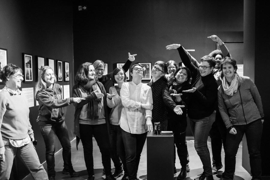 Inauguration de l'exposition Vest Pocket Memories à Souchez