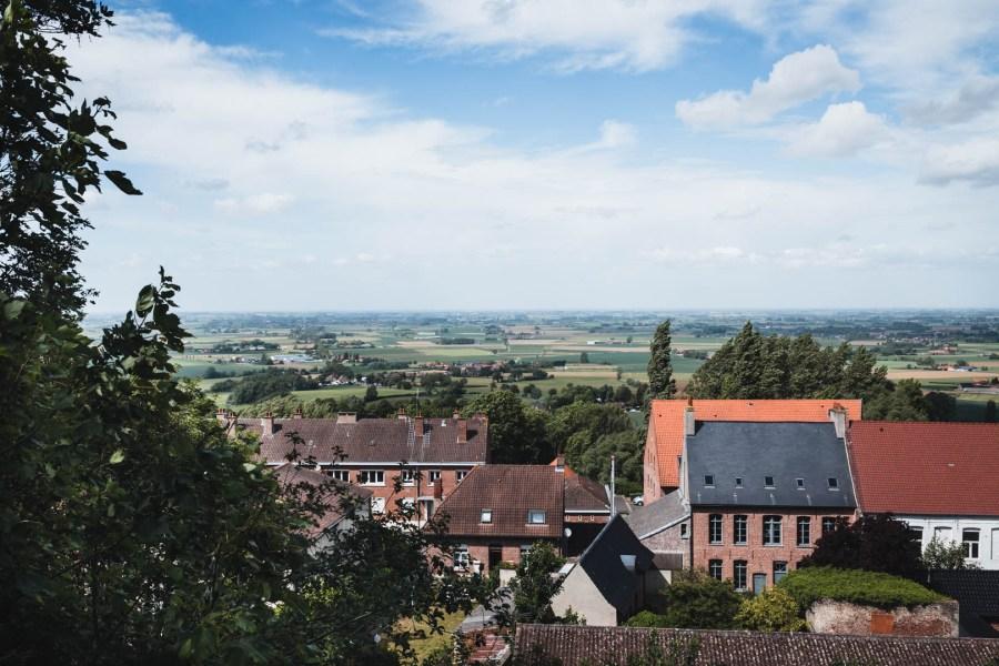 Panorama depuis le jardin public de Cassel