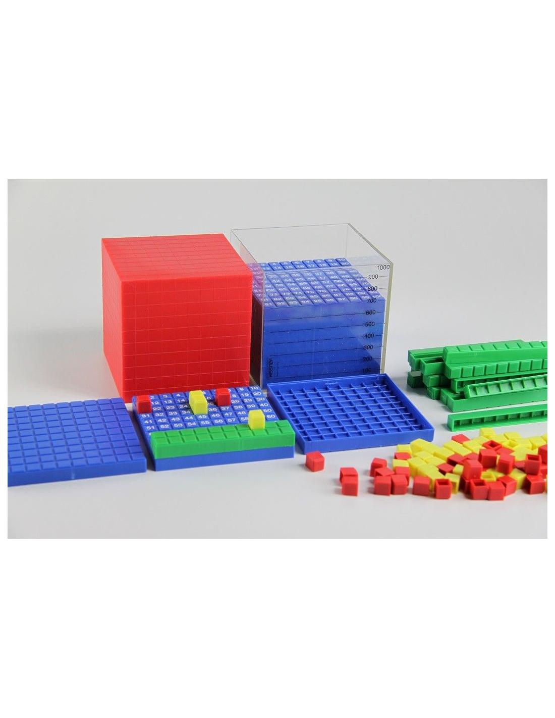 Materiel Systeme Decimal Montessori Base 10nes