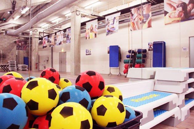 la salle de sport high tech du stade des alpes lesmondaines grenoble