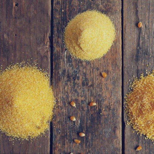 semoules de maïs