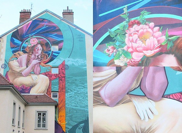 Street Art Grenoble Ashop ARaymond