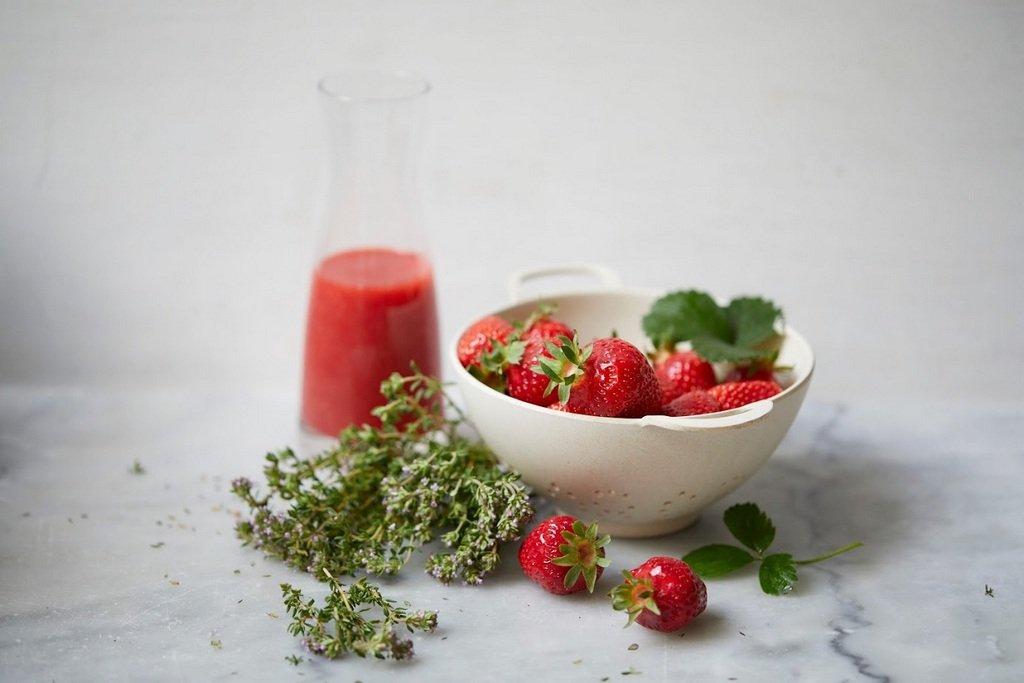 fraises région de Grenoble
