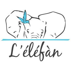 logo de l'élèfàn, le supermarché participatif de Grenoble