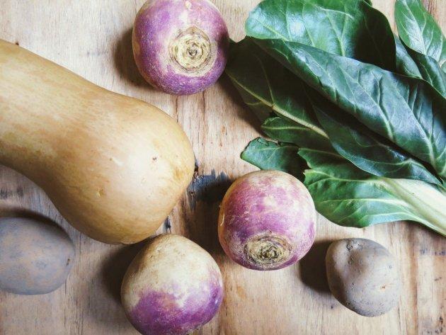 Légumes pour soupe dauphinoise