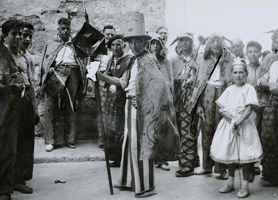 Diables i Llucifer antics a la Festa Major de Sitges