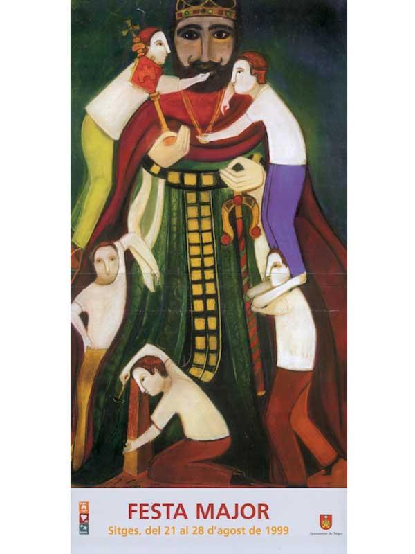 Cartell de Festa Major de Sitges 1999