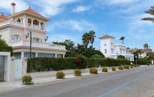 Casas coloniales en Sitges