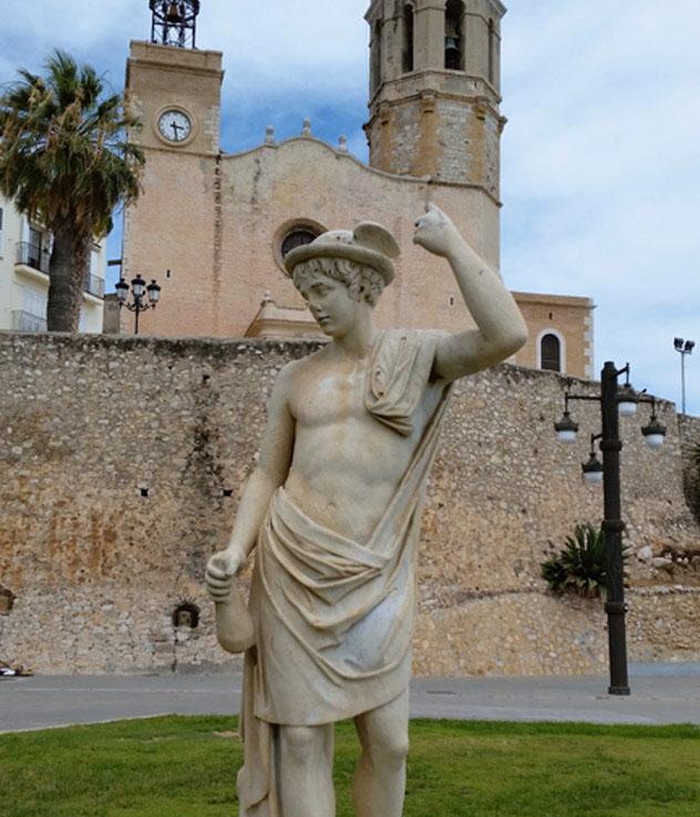 Mercurio-Hermes en Sitges