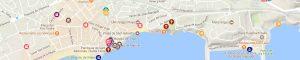 Map. WEB Moreres de Sitges