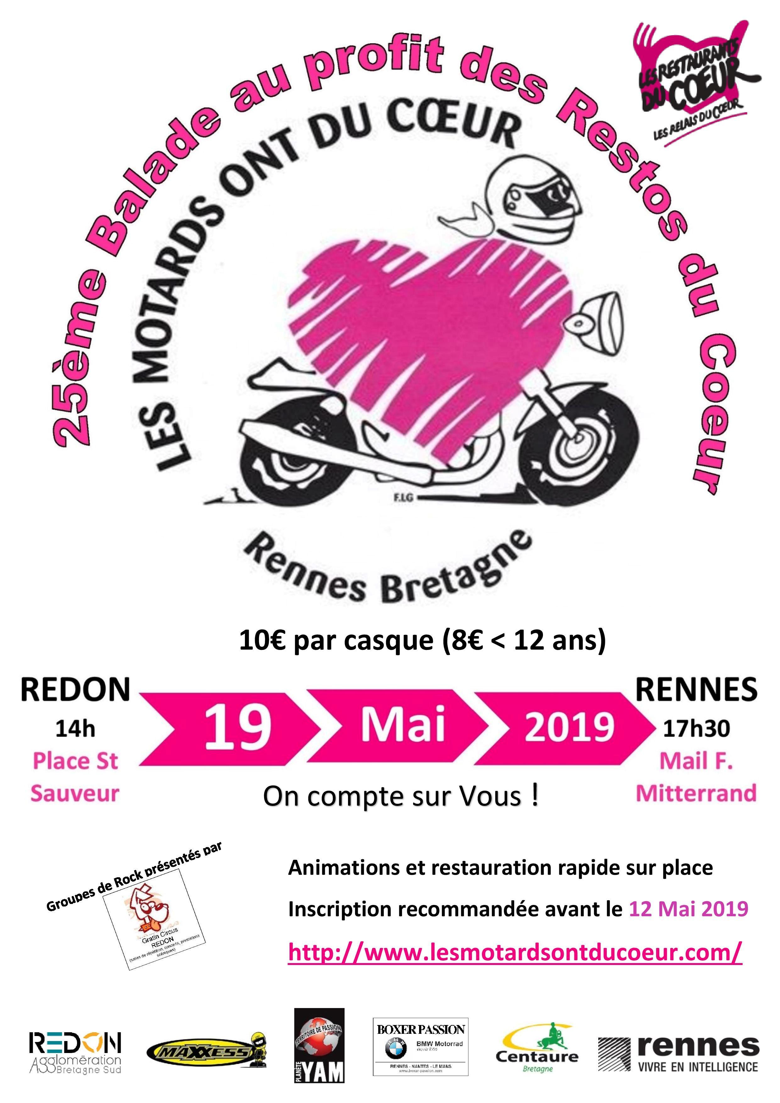 Les Motards Ont Du Coeur : motards, coeur, Motards, Coeur