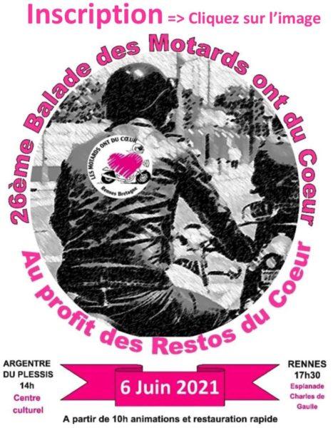 Les Motards Ont Du Coeur : motards, coeur, Motards, Coeur, Rennes, Bretagne