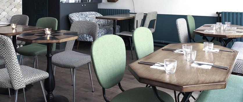 Café Pinson restaurant, cantine bio
