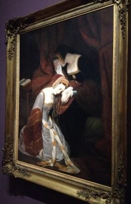 Anne Boleyn à la Tour de Londres, Édouard Cibot,