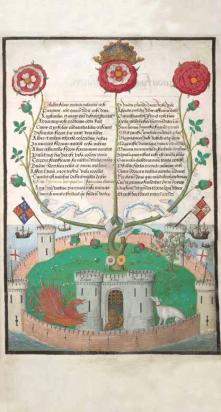 Livre de choeur offert à Henri VIII © British Library