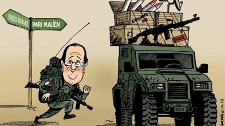 un-dessin-humoristique-sur-la-guerre-au-mali