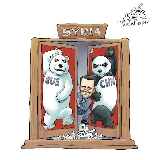 Syria China Russia-m