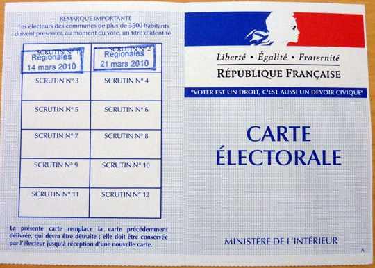 10030135-carte-d-electeur-vote-obtention-et-perte-de-sa-carte-electorale