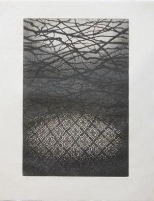 OKAMOTO Hiroko Chair n°131 gravure (4/50) 56x44,5 cm