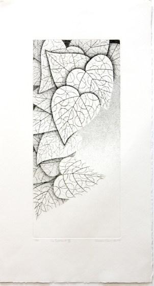 OKAMOTO Hiroko Un Instant III, 2006 gravure (1/5) 64x34,5 cm