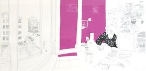 RENAULT Emilie Anita, 2007 Sérigraphie 63x100 cm