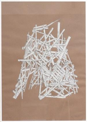 RONCO Antoine Tipi 19/50, 2007 sérigraphie 50x70 cm