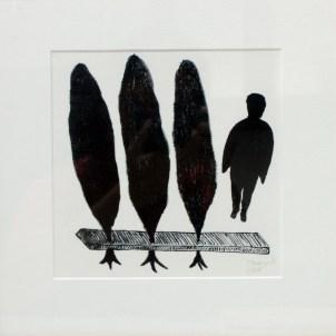 MENGUY Bertrand Sans titre gravure (5/55) 33x33 cm