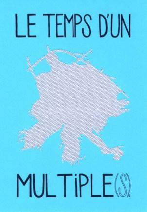 GOLDET Marie-Atina Le Temps d'un multiples, 2012sérigraphie43x33 cm