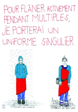 GOLDET Marie-Atina Le Temps d'un multiples, 2012 sérigraphie 43x33 cm